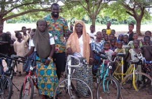 The Alaffia Bike Project 2 000 Bikes Heading To Togo Pcc