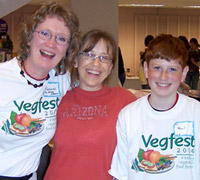 Folks at Vegfest