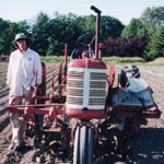Co-farmer Scott Chichester