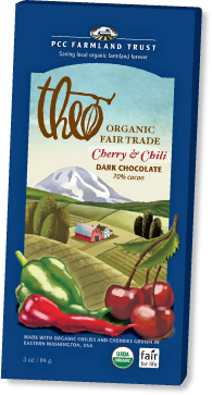 Theo Chocolate bar