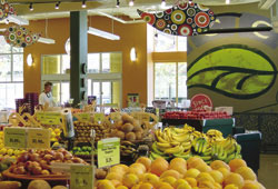 The produce department at the Fremont PCC store.