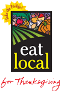 Eat local for Thanksgiving logo