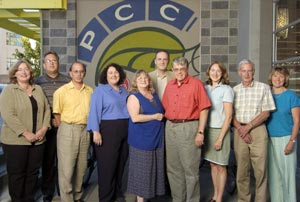 2004-2005 PCC Board of Trustees and management