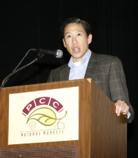 Board chair Stephen Tan