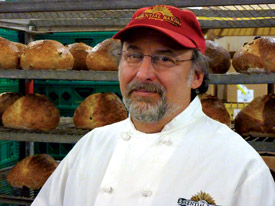 George DePasquale and his team of artisan bakers
