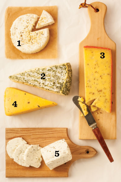 5 great picnic cheeses