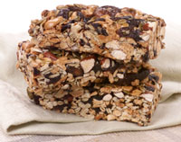 harvest fruit nut bar