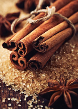 cinnamon and allspice