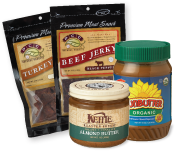 Jerky and nut butter