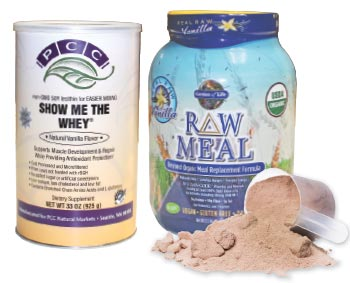 protein powder and meal replacement