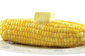 corn on the cob & butter