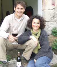 Nadia and Cyril Bourgne