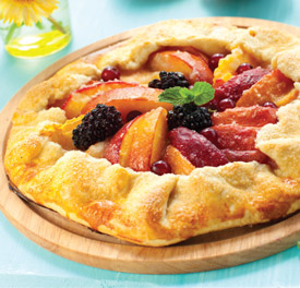 Fresh Fruit Galette