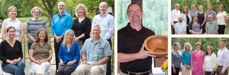 Collection of photos of board members, PCC staff and nominating committee members.