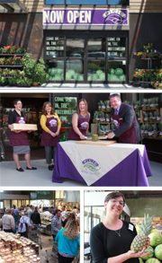 Collage of photos of Bothell PCC store opening
