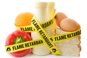 Getting flame retardants out of the food supply