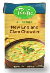 Pacific New England Clam Chowder