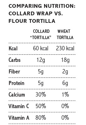 comparing tortillas