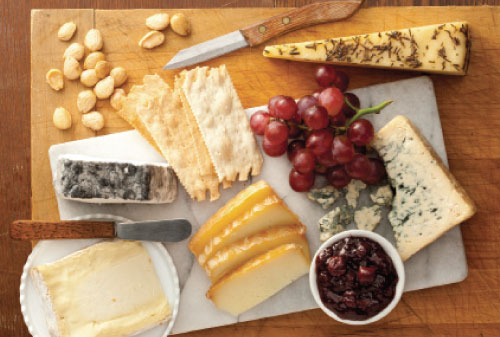 crowd pleaser cheese plate