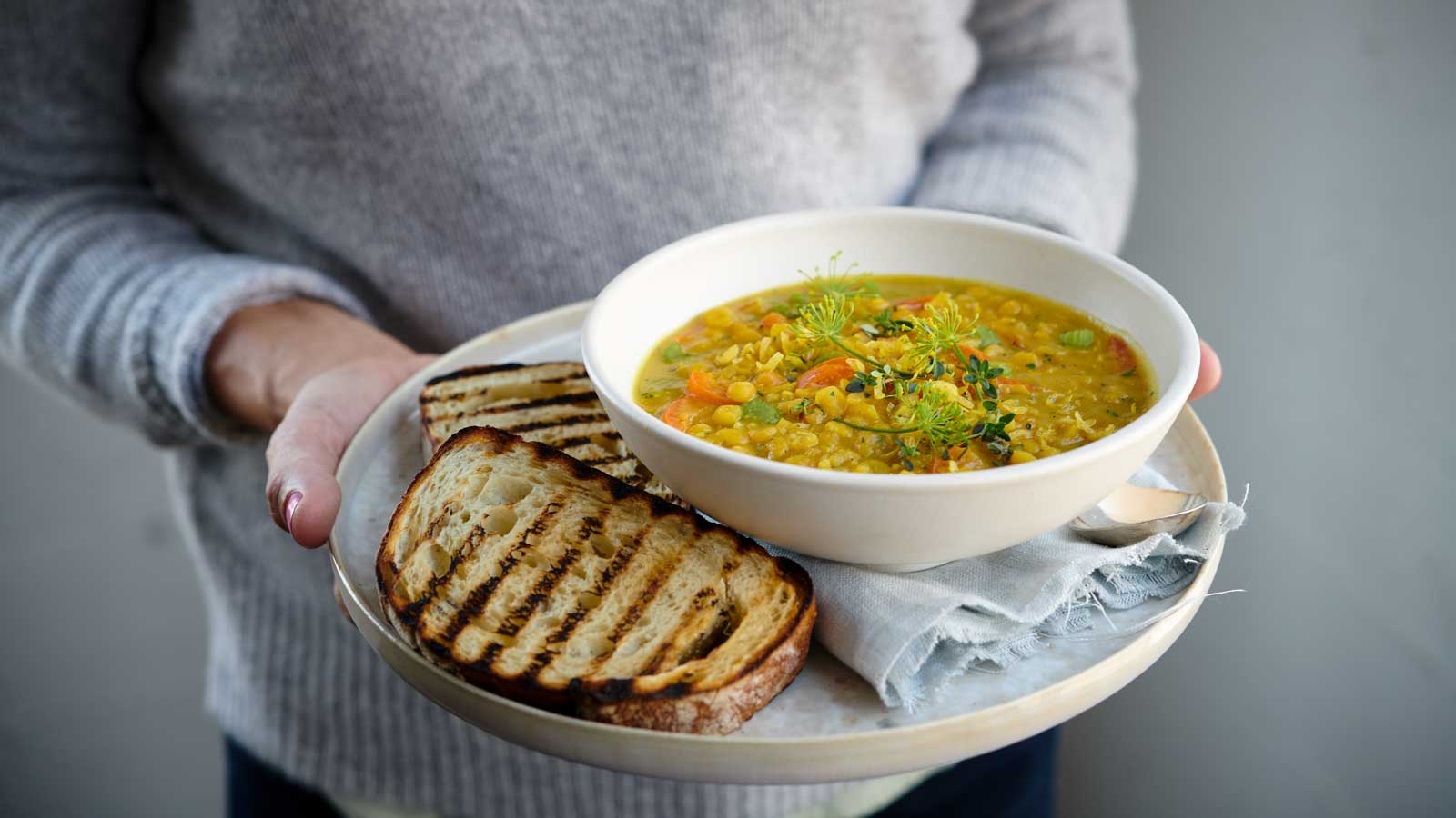 How to make pea soup in the Redmond