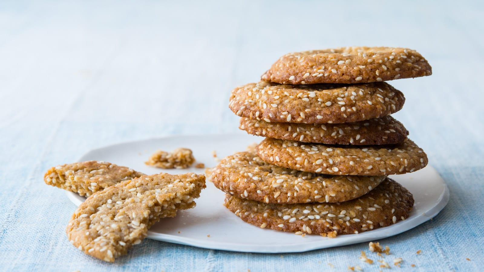 Sesame Cookies 88