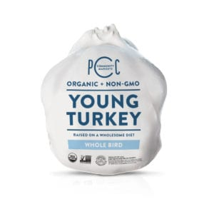pcc whole organic non-gmo turkey