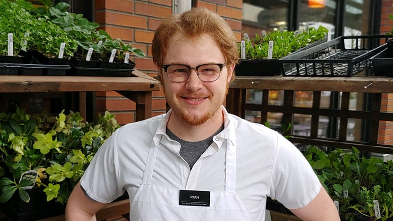June Customer Service Star: Ryan Hendricks, Green Lake Village deli