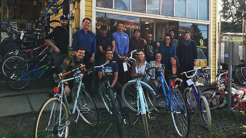 Social Action Grant Winner: Bike Work.