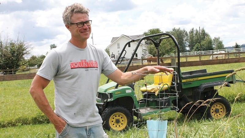 Nick Pate agroforestry pioneer