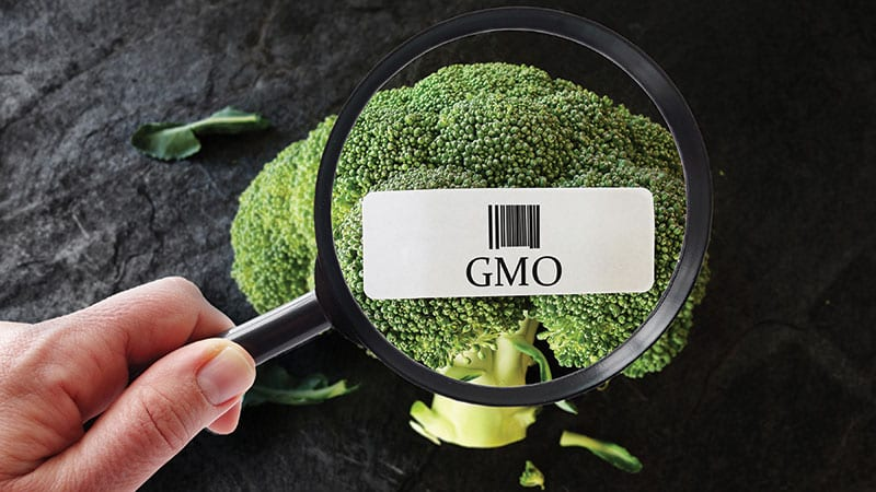 GMO produce broccoli