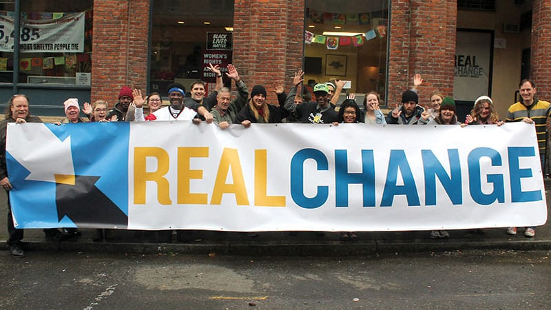 Group photo of Real Change